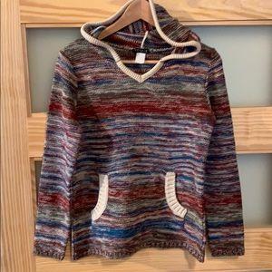 Multicolor Sweater Hoodie